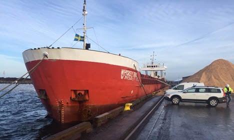 Sweden blocks suspect Turkish freighter in port