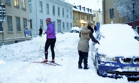 Gothenburg pays for 'worst snow in ten years'
