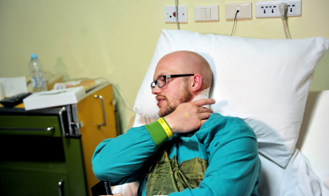 Swede hurt in Egypt attack leaves hospital