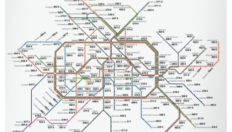 Use this map to find Berlin's cheapest rent