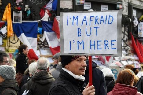 PICS: France remembers terror attack victims