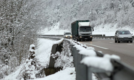 Snow and ice weather alerts extended across France