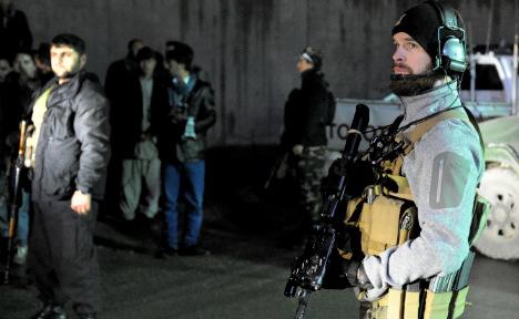 Taliban suicide attack hits German convoy