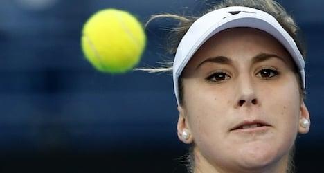 Bencic upbeat after close loss to Sharapova