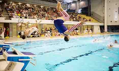 Pool makes splash with gender jacuzzi split