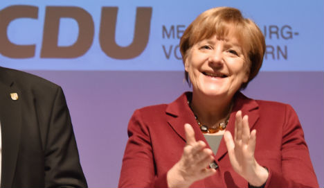 'Most refugees will return home': Merkel