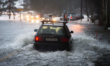 Norway became warmer and wetter in 2015