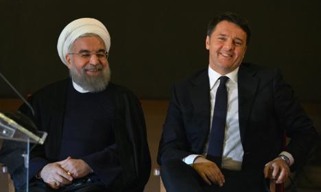 Italian firms seal Iran deals worth up to €17 billion