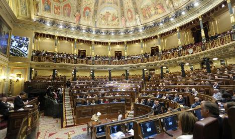 Spain's divided parliament convenes at time of political turmoil
