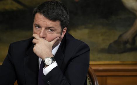 Italy's Renzi criticizes Franco-German dominance in EU