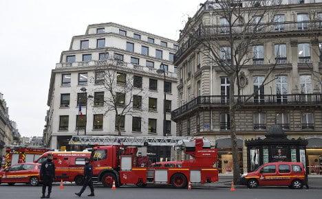 Paris Ritz hotel hit by blaze weeks before grand reopening