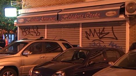 Spanish woman confesses to hiding dead man in ice-cream shop freezer