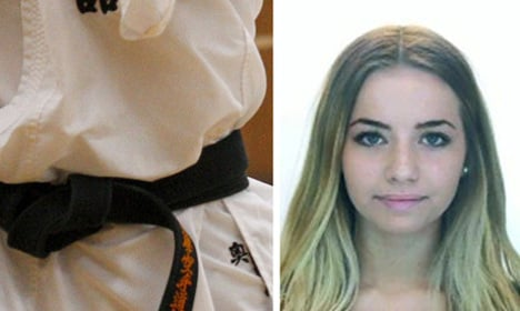 Karate club kicked for using murder victims in adverts