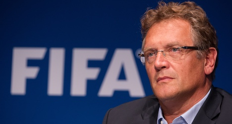 Fifa official Valcke's suspension extended