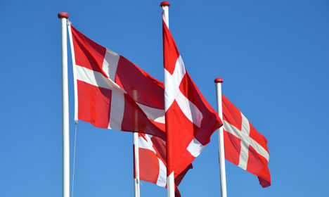 Denmark wants to count all of its flagpoles