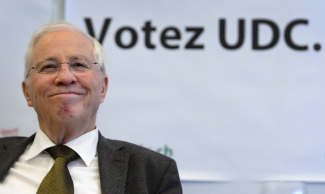Swiss populist firebrand Blocher to step down