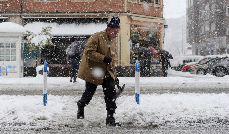 Spain braced as icy winds and snow storms sweep nation