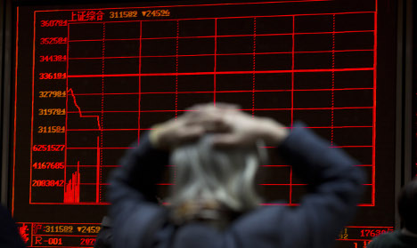 Swedish traders fear China economy jitters