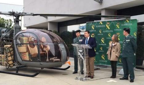 Firefighting helicopter pilot turned drug smuggler busted