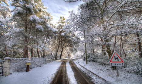 France on alert as snow storms sweep through