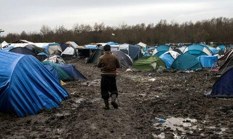 British TV sets sent to Calais to house refugees