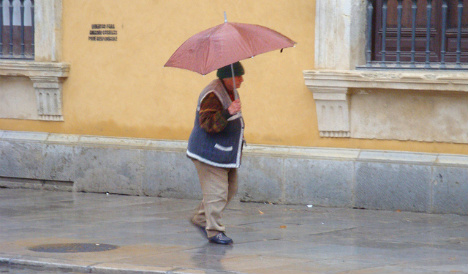 Rainy Reyes: Provinces across Spain on alert for stormy weather