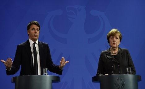 EU austerity is putting brakes on Italy's economy: Renzi