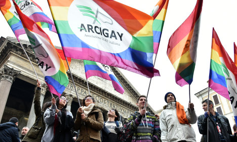 Italy battle over gay civil unions heads for the streets