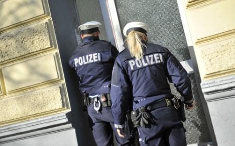 Police raid homes of neo-Nazi website founders