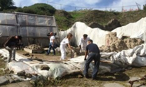 Pompeii begins gladiator domus restoration