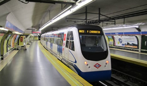 Madrid metro sparks row with free passes for transsexuals