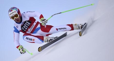 Injury sidelines Swiss Olympic ski champion