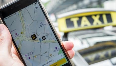 Frankfurt court bans app's discount taxi rides