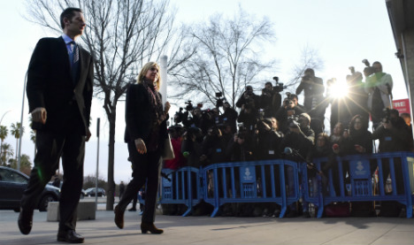 'All citizens equal before the law': Princess Cristina fraud trial starts