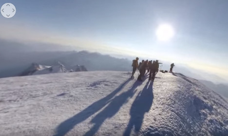 Climb Mont Blanc from your armchair thanks to Google