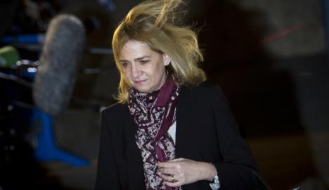 Spanish court refuses to drop case against Princess Cristina