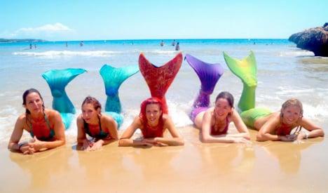 How to be a mermaid: Spanish swim school makes a splash
