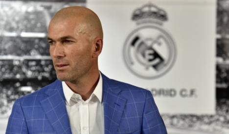 Real Madrid sack Benitez as coach and hire footballing legend Zidane