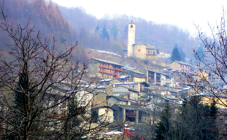 Italy mountain town celebrates first baby in 28 years