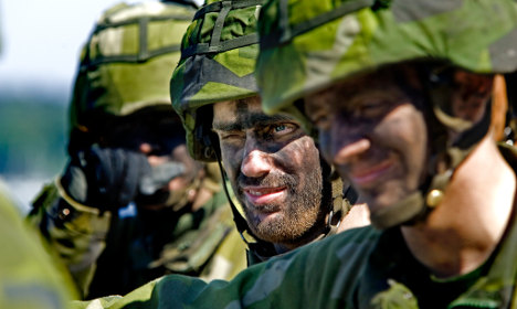 Majority of Swedes back return to military service