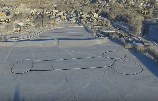 New massive snow penis made after small one cleared