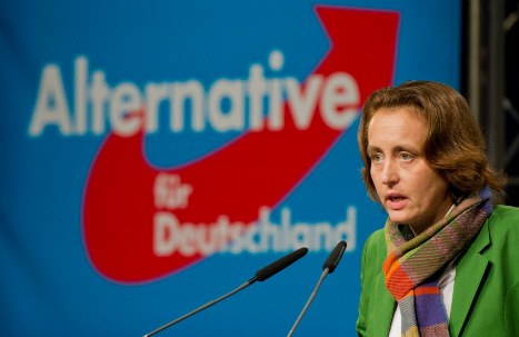 'Merkel should be ready to flee to South America': AfD leader