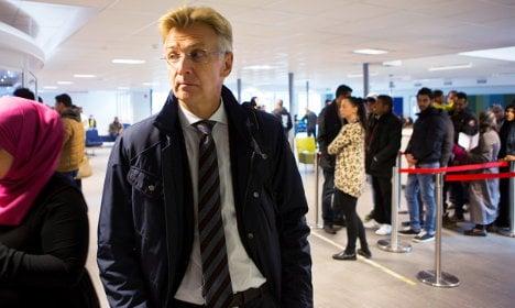 Oops! ID checks stump Swedish migration head