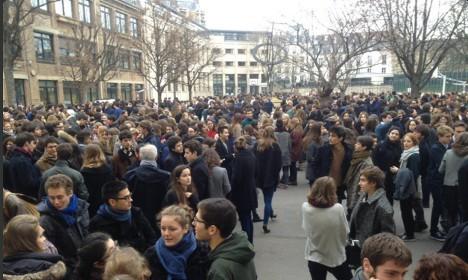 Paris high schools evacuated over new terror threats