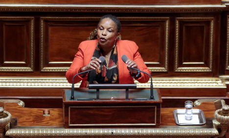 The speech that marked Christiane Taubira's finest moment and a defining one for France