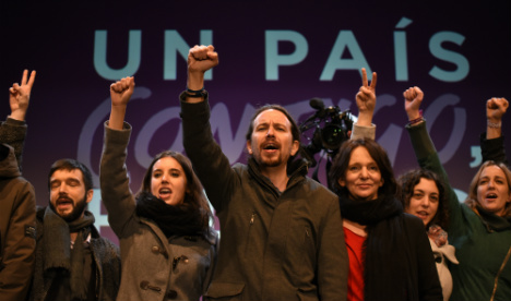 Spain's new leftist MPs renounce traditional parliamentary perks