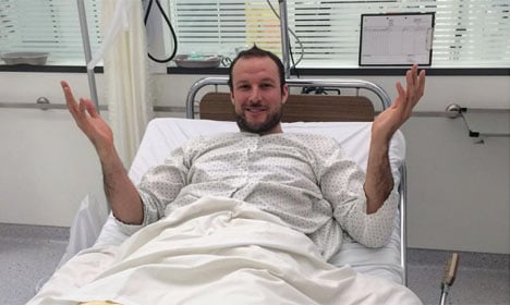 Norway's Svindal out for season after crash