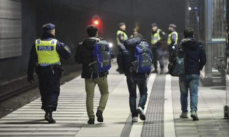 Sweden sees sharp drop in new refugee arrivals