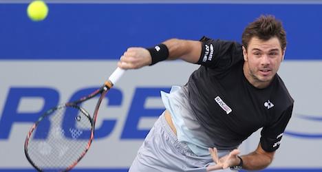Wawrinka wins hat trick at Chennai Open