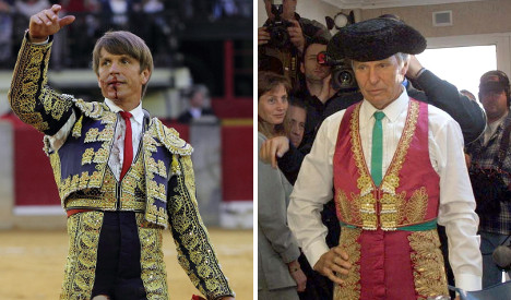 Like father like son: Napkin proves matador paternity suit